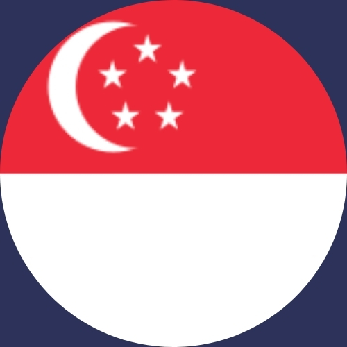 the best way to store gold - Singapore flag