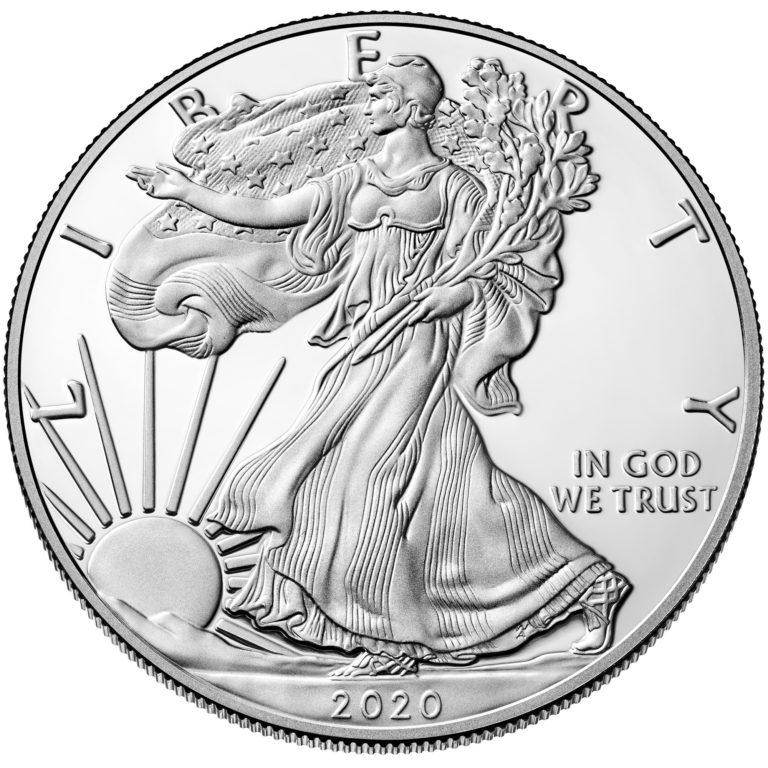 Silver Eagle Coins Review obverse design