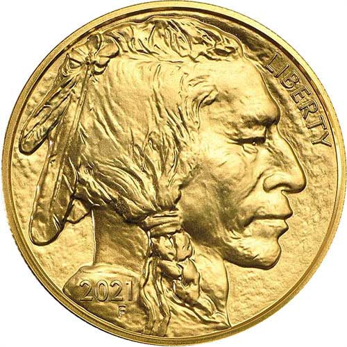Best gold coin 2021-Gold-Buffalo-Obverse