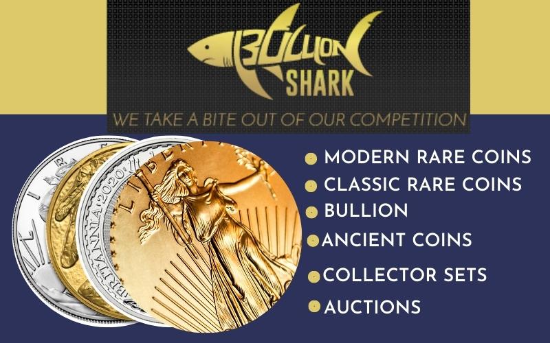 Numismatic Traders bullion shark profile