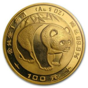 Chinese Panda Gold Coin Review 1983 Reverse Design