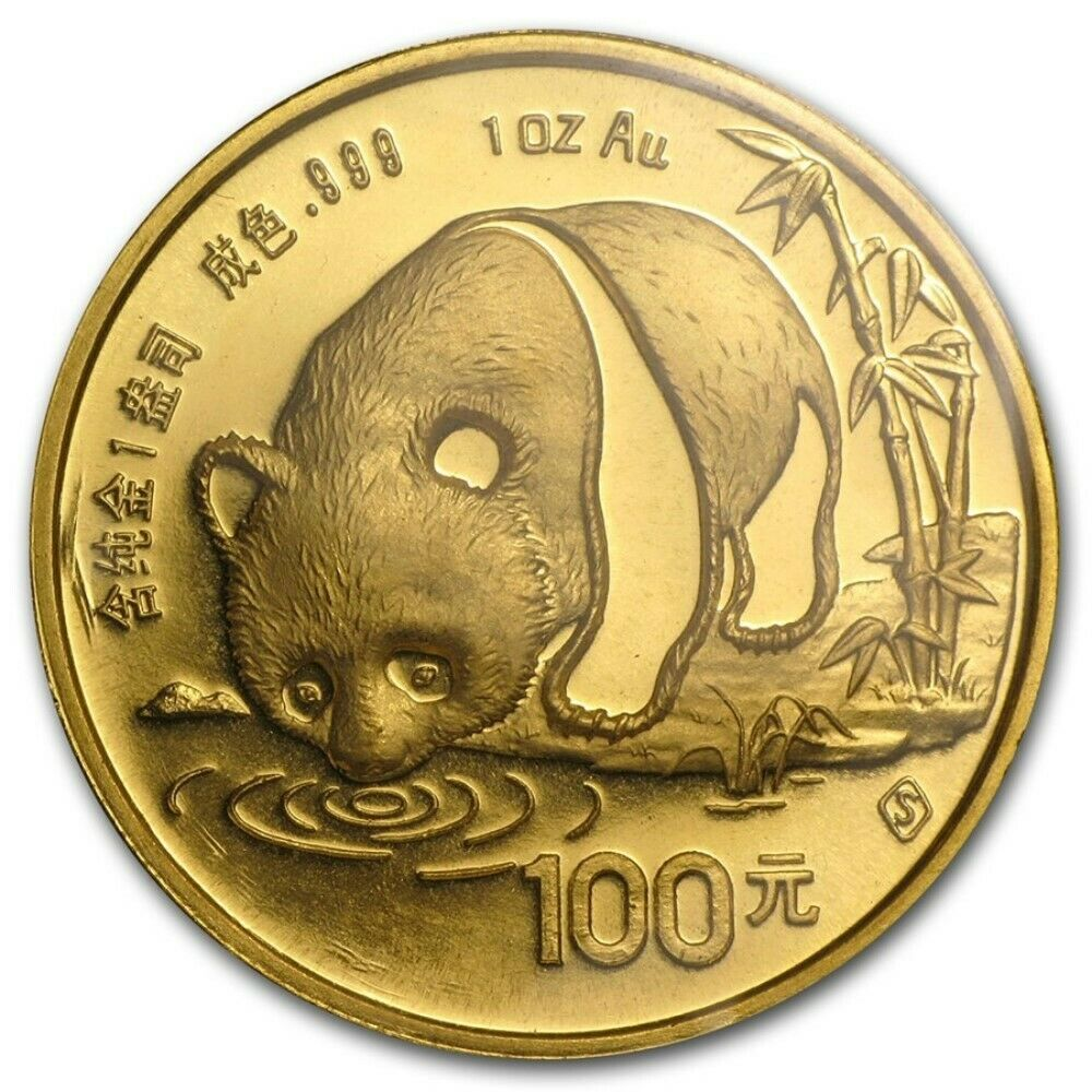 Chinese Panda Gold Coin Review 1987 Reverse Design