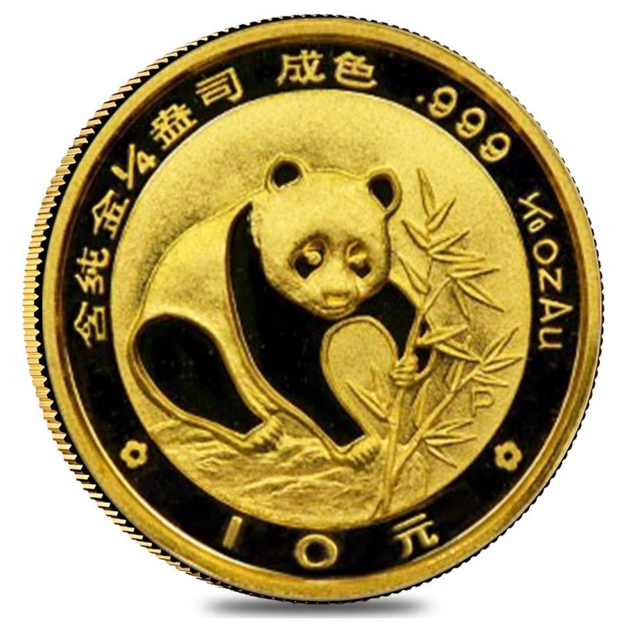 Chinese Panda Gold Coin Review 1988 Reverse Design