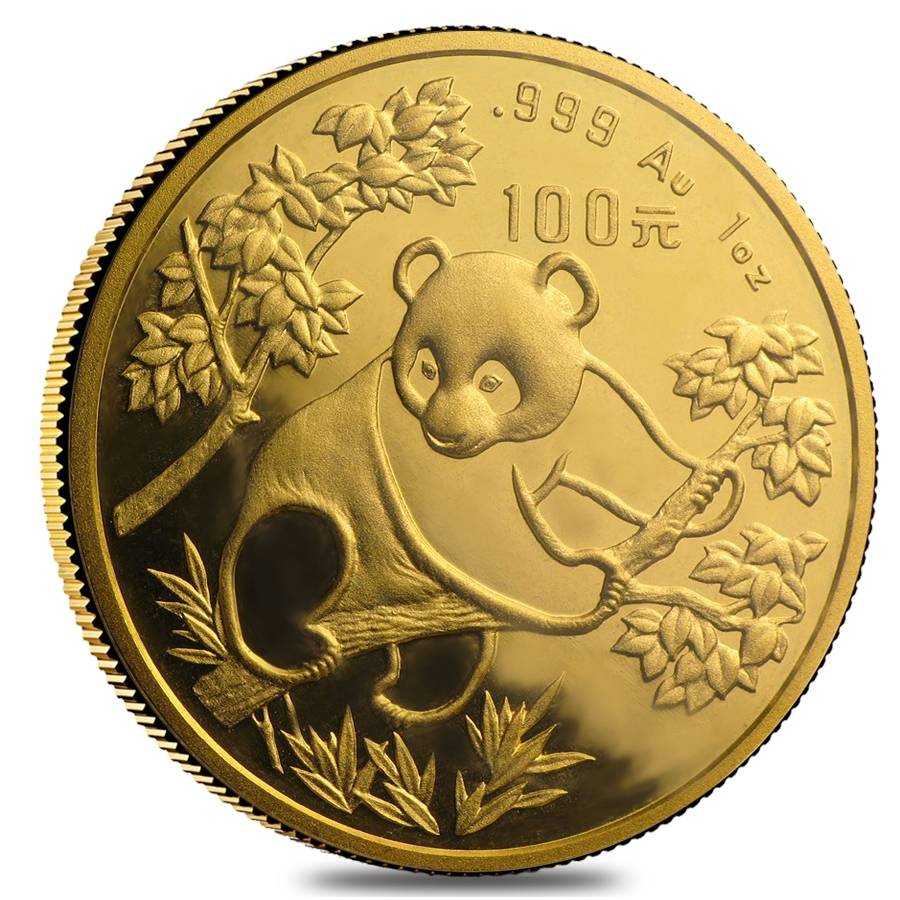 Chinese Panda Gold Coin Review 1992 Reverse Design