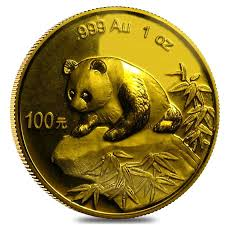 Chinese Panda Gold Coin Review 1999 Reverse Design