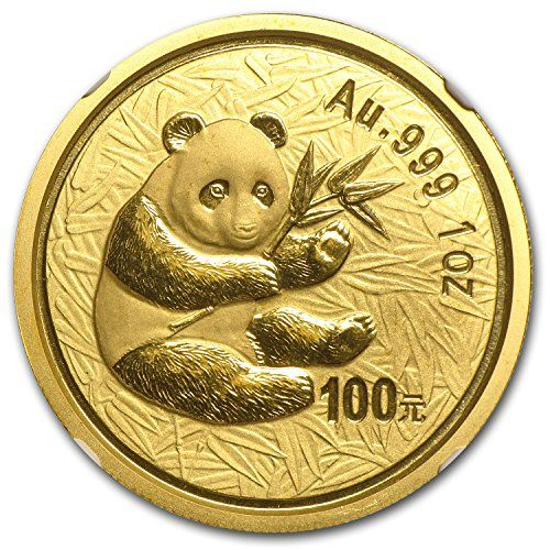 Chinese Panda Gold Coin Review 2000 Reverse Design