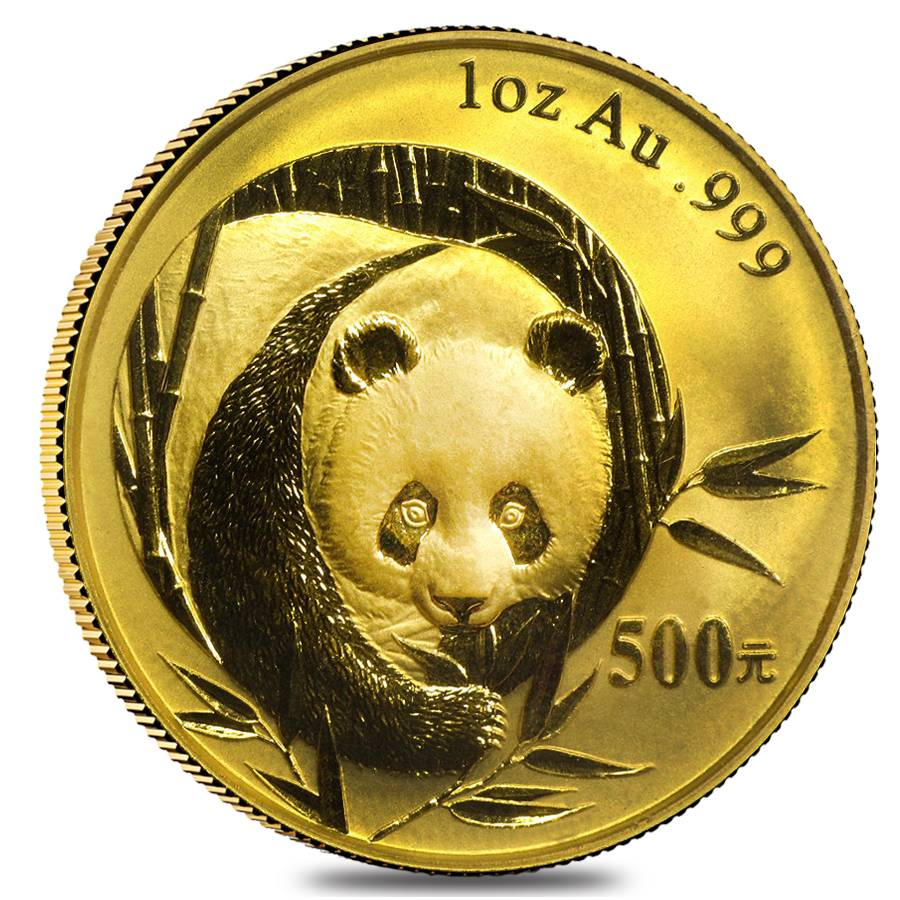 Chinese Panda Gold Coin Review 2003 Reverse Design