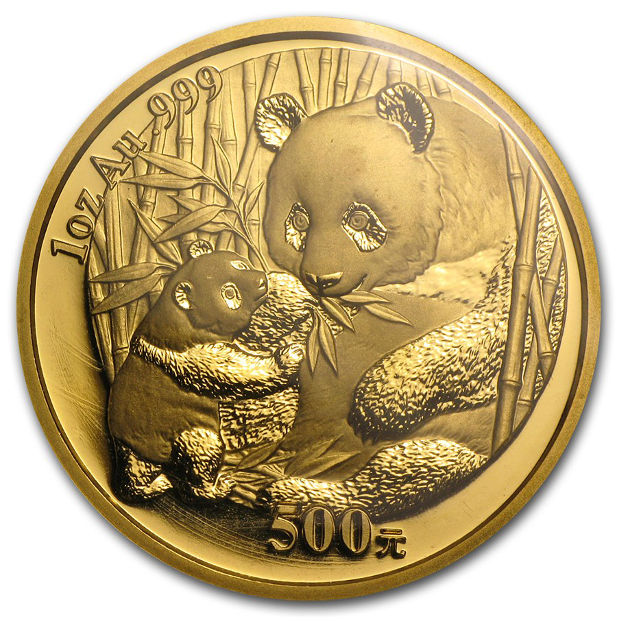 Chinese Panda Gold Coin Review 2005 Reverse Design
