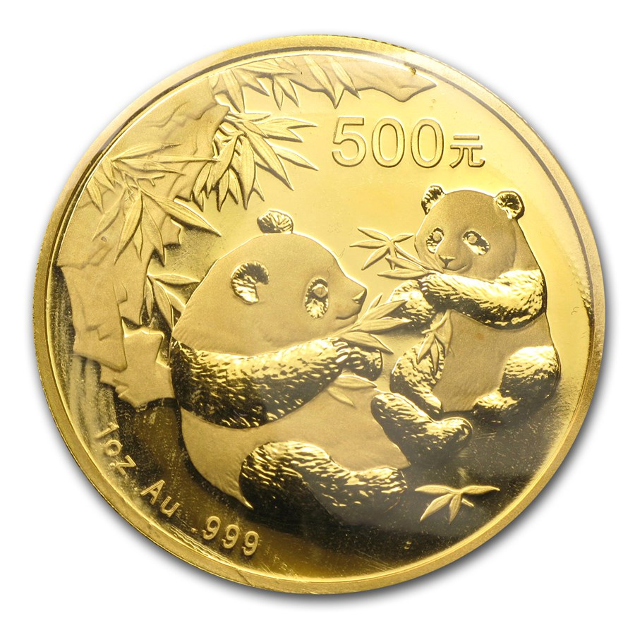 Chinese Panda Gold Coin Review 2006 Reverse Design