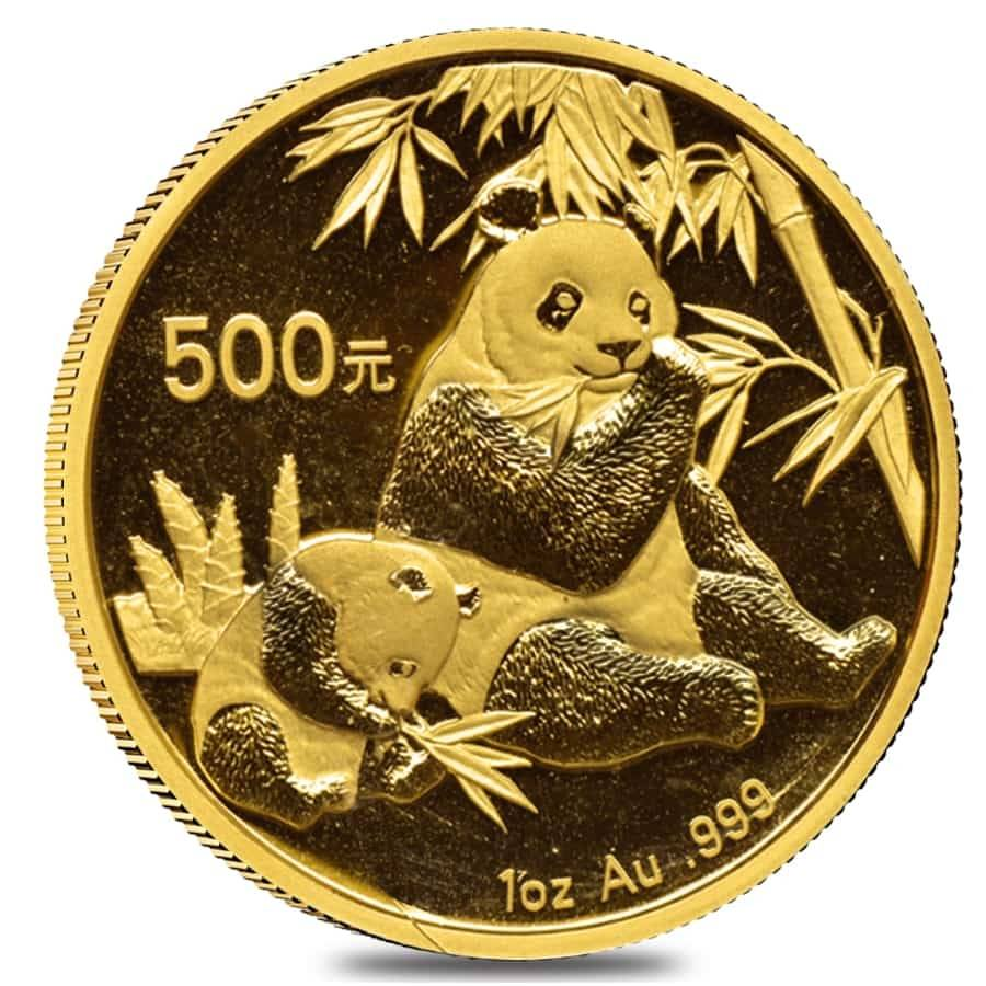 Chinese Panda Gold Coin Review 2007 Reverse Design