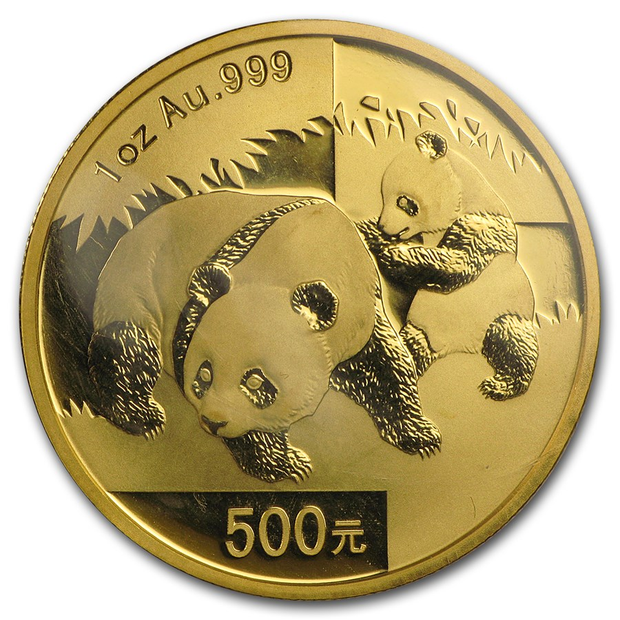 Chinese Panda Gold Coin Review 2008 Reverse Design