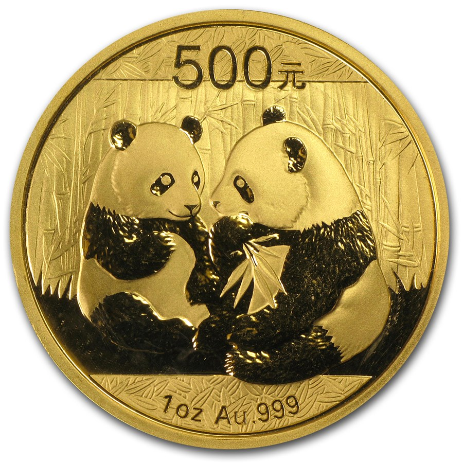 Chinese Panda Gold Coin Review 2009 Reverse Design