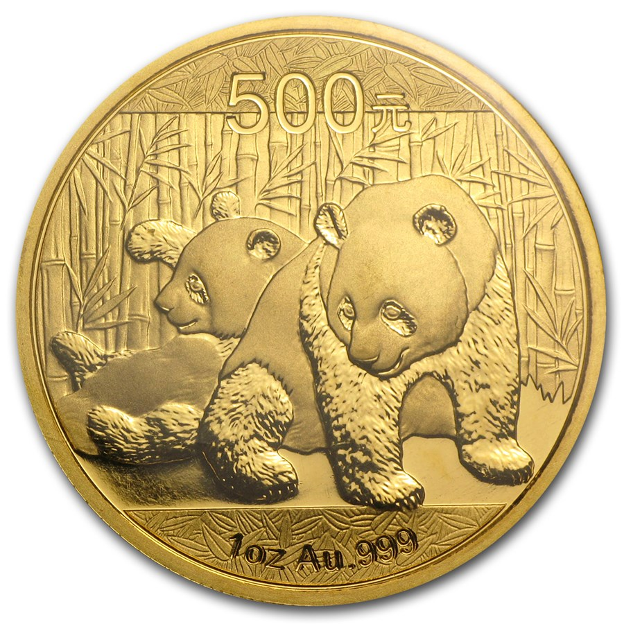 Chinese Panda Gold Coin Review 2010 Reverse Design