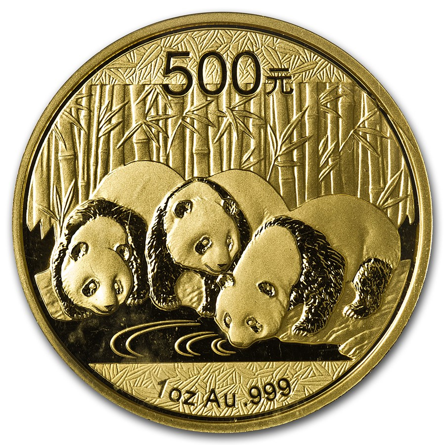 Chinese Panda Gold Coin Review 2013 Reverse Design