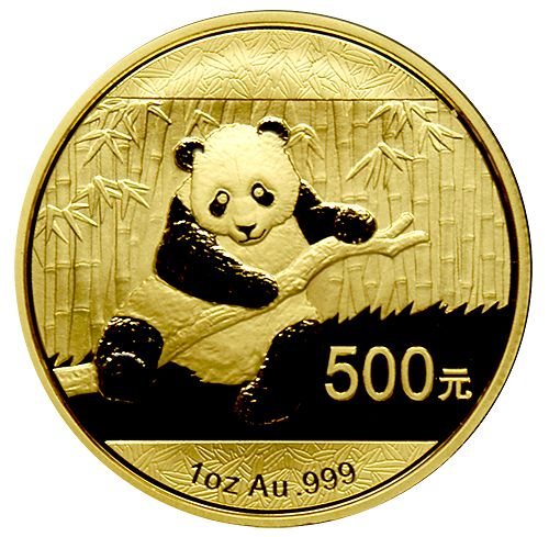 Chinese Panda Gold Coin Review 2014 Reverse Design