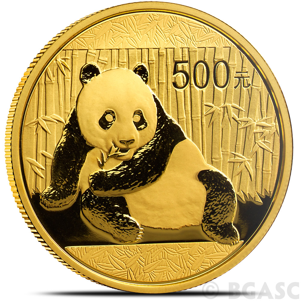 Chinese Panda Gold Coin Review 2015 Reverse Design