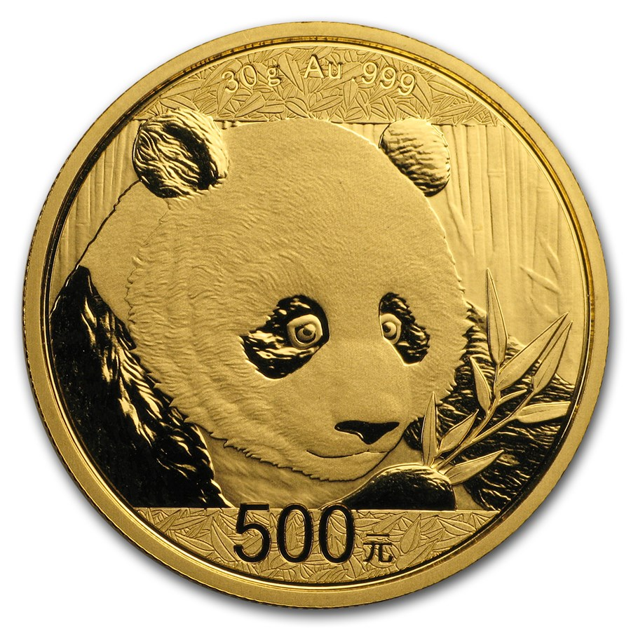 Chinese Panda Gold Coin Review 2018 Reverse Design