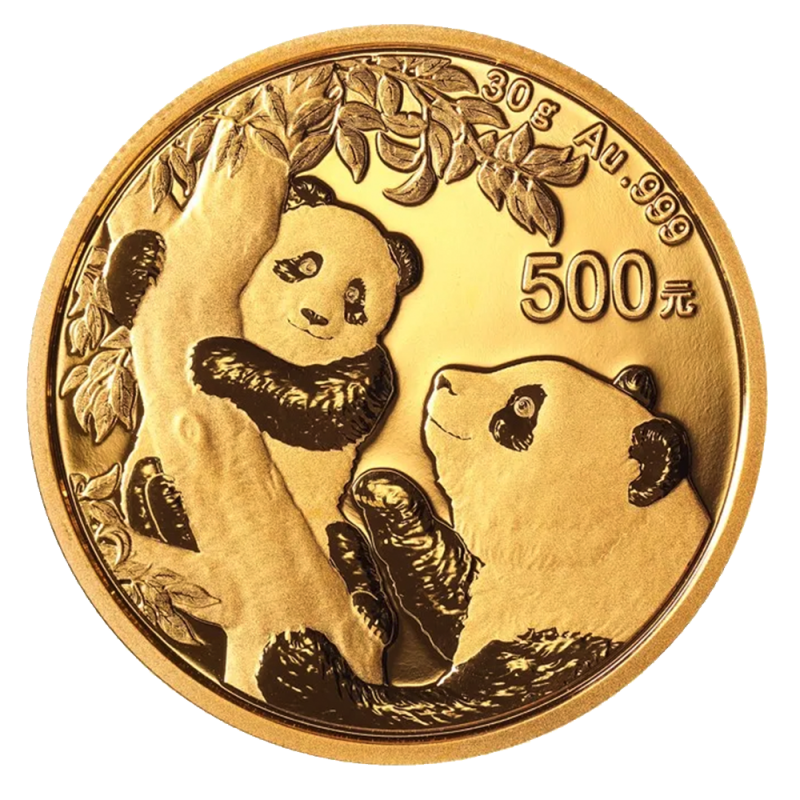 Chinese Panda Gold Coin Review 2021 Reverse Design