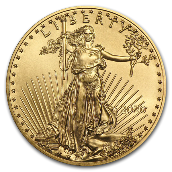 american gold eagle coin from goldbroker
