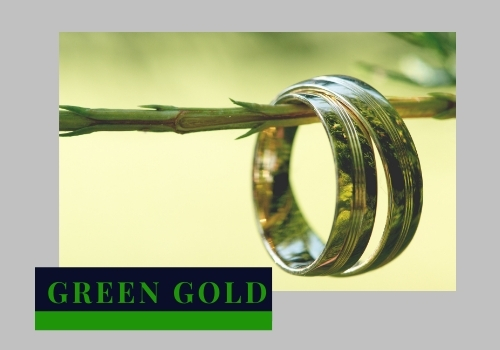 Gold purity green Gold Ring