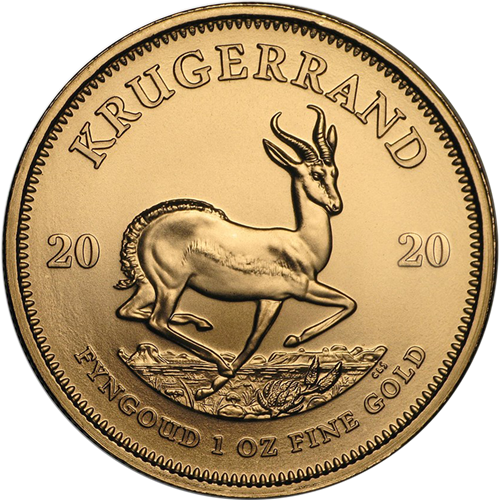 What is the Krugerrand reverse 2020