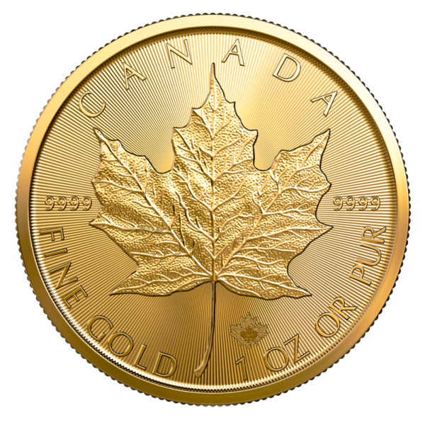 Canadian Maple Leaf Reverse 2021