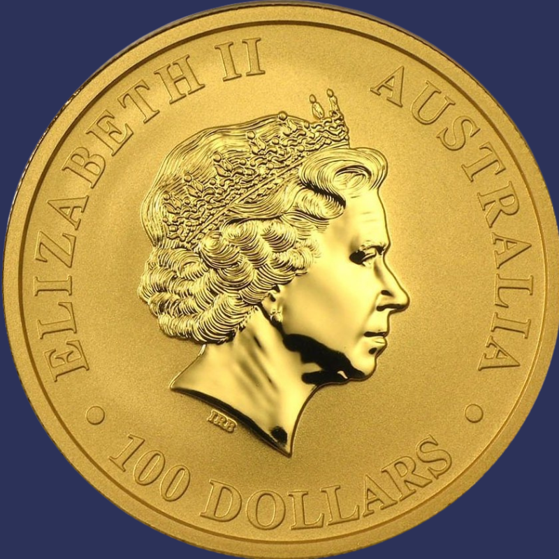 australian gold nuggets - obverse 1 oz gold coin 2020