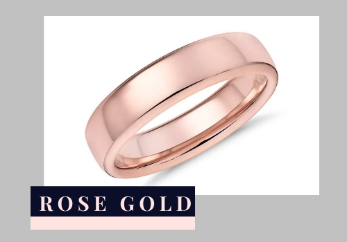 Gold purity Rose Gold Ring