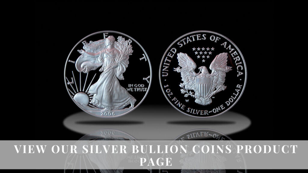 Numismatic Traders Silver Bullion Product Page