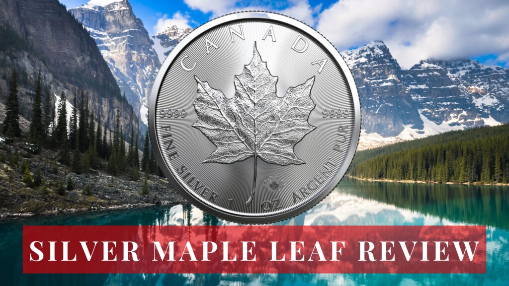 Silver Maple Leaf Coin Review Canadian landscape