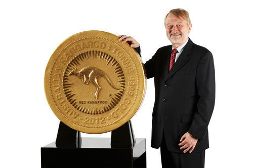 Australian gold nuggets - biggest coin by perth mint