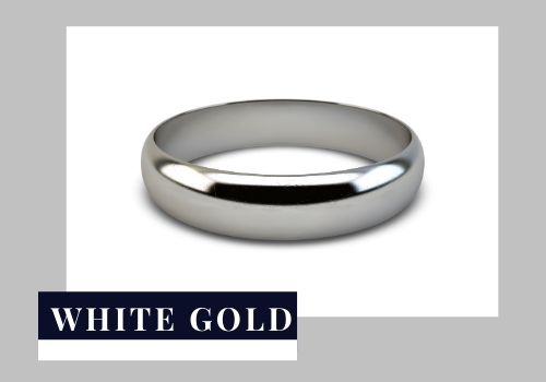 Gold purity white Gold Ring