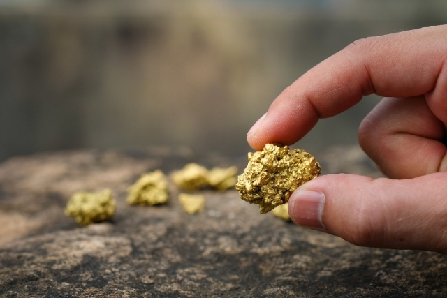 how to buy gold and silver - gold nuggets